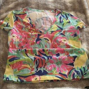 Lilly pulitzer shirt in very good condition
